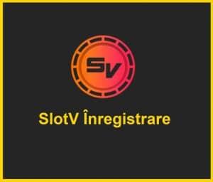 SlotV Înregistrare