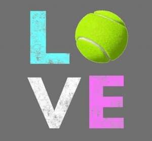 De ce se numește zero dragoste în tenis
