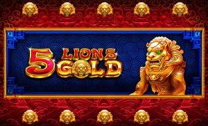5 Lions Gold joc de cazinou