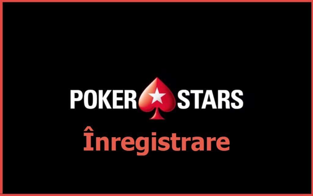 Poker Stars Înregistrare