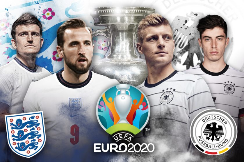 Euro2020 Anglia - Germania