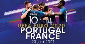 Euro2020 Portugalia Franta