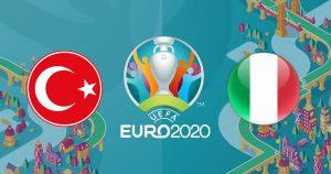 Euro2020 Turcia-Italia