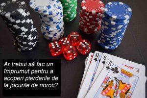 Ar trebui să fac un împrumut pentru a acoperi pierderile de la jocurile de noroc
